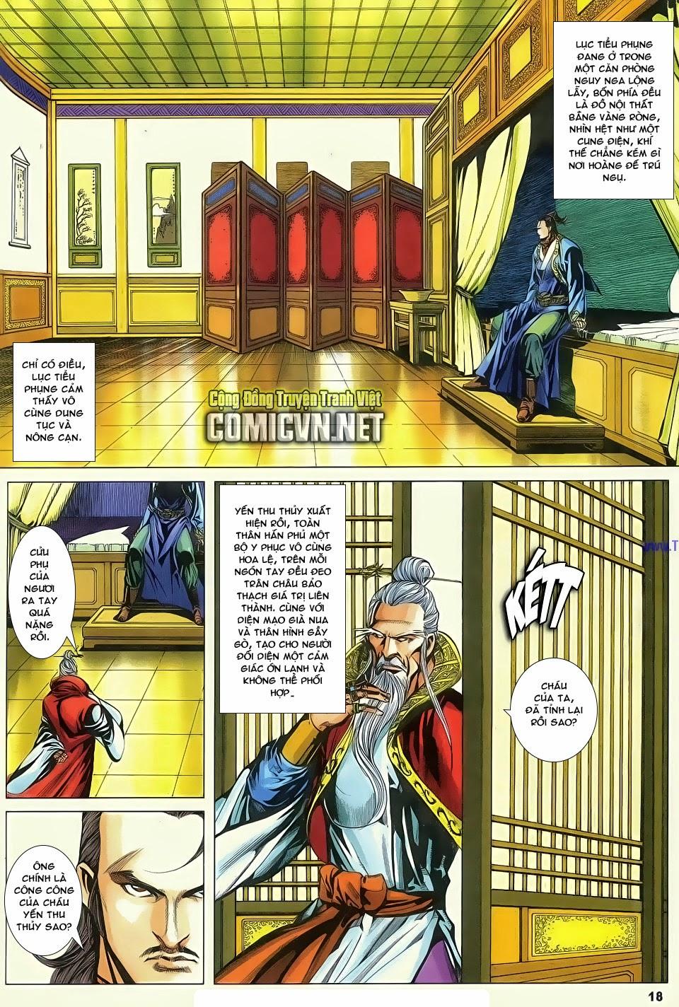 Cổ Long Quần Hiệp Truyện chap 83 - Trang 18
