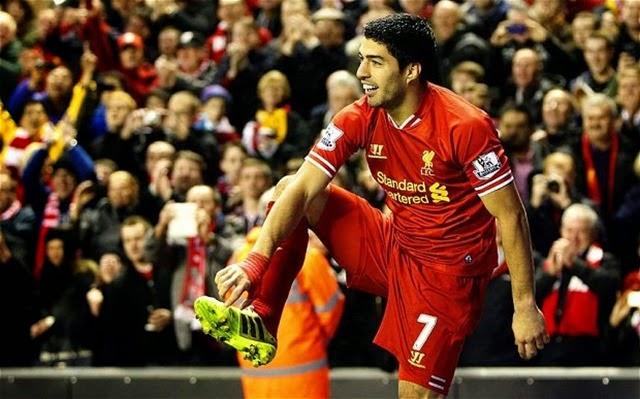 Video -Todos los 31 goles de Luis Suárez con el Liverpool