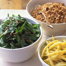Dandelion Salad with Warm Bacon Dressing