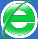 The 360 Safe Browser logo (near identical to Internet Explorer)