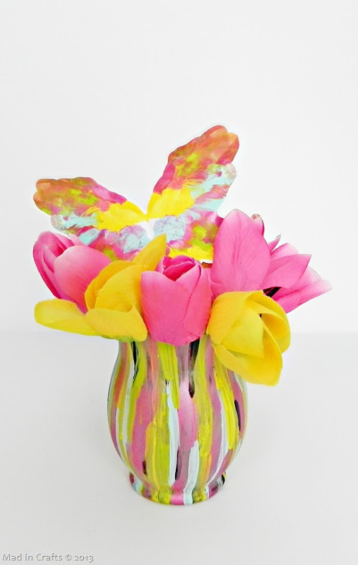 Fashion Designer Inspired Spring Vase