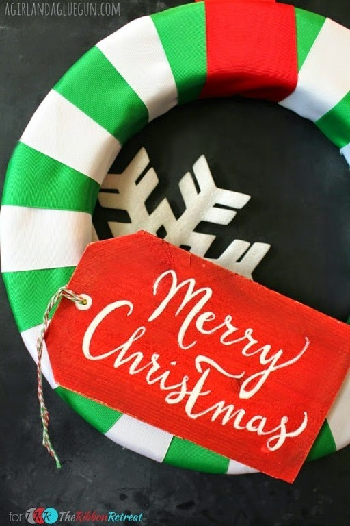 Easy-Christmas-Ribbon-Wreath