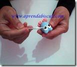 Modelando corujinha em biscuit parte 17