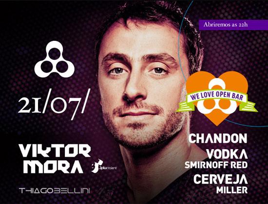 Festa We Love Open Bar com DJ Mora na Anzu Club em Itu