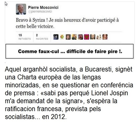 arganhòls socialistas Moscovici