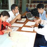 サラワク博物館にてDr.Charles Lehと面談 / With Dr. Charles Leh, at Sarawak Museum,