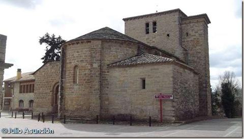 Iglesia románica de Gazólaz - Navarra