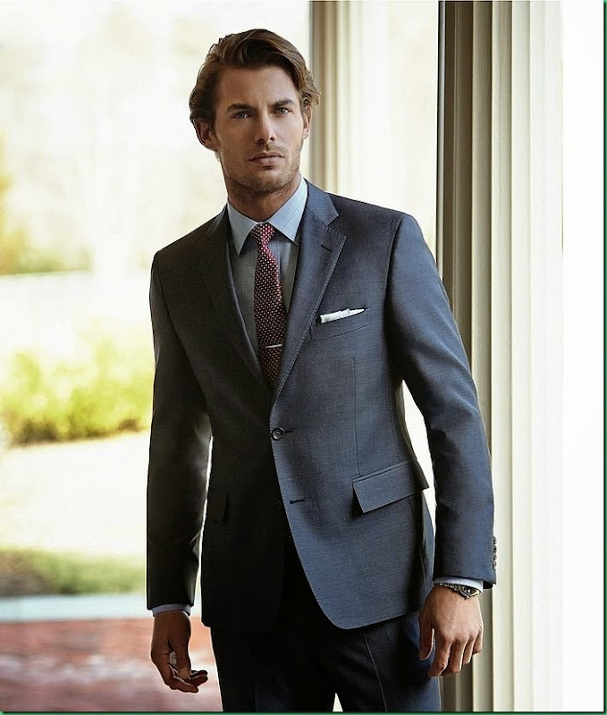 More Images of Jacey Elthalion for Brooks Brothers F/W 2014.15