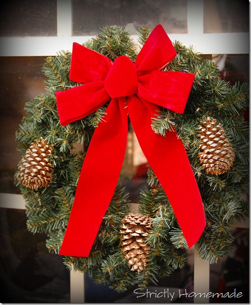 Make your own wreath bows