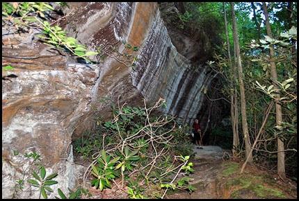 31a - Rock Garden Trail - A few more cliffs