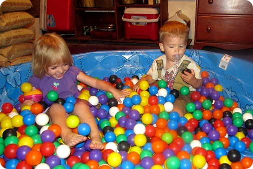 The Ball Pit at Grandma Fezzi's House