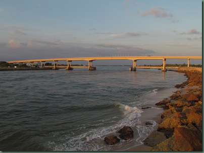 Bridge over Sebastian Inlet