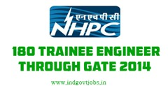 nhpc trainee engineer