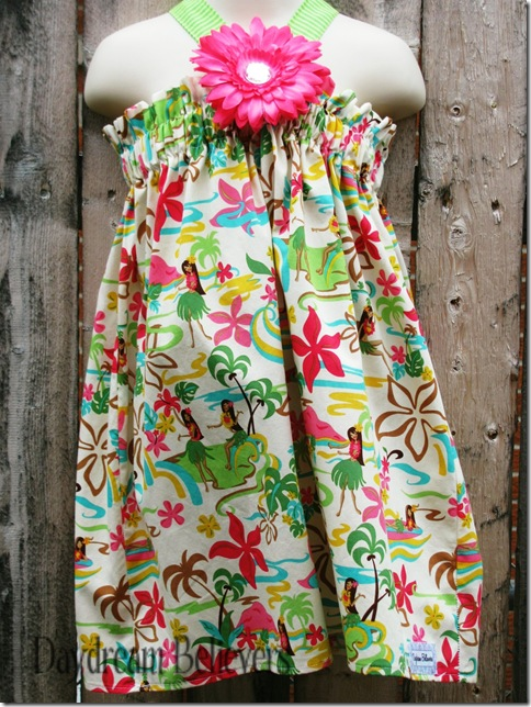 One of a kind The Blair luau dress by Daydream Believers