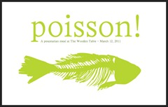 French fish is poisson