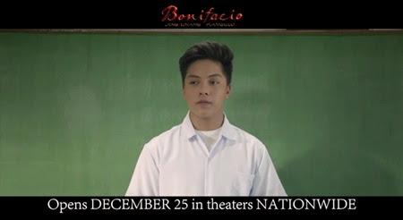 Daniel Padilla in Bonifacio Ang Unang Pangulo