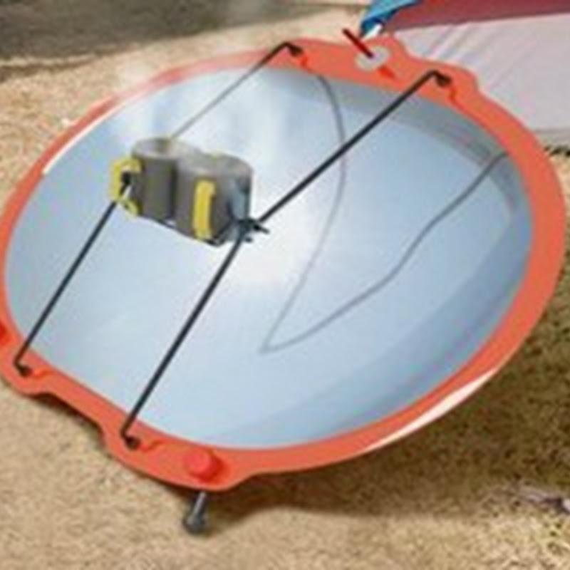 Crean diseño de Cocina Solar que se arma en segundos
