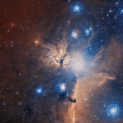Nebulosa da Chama