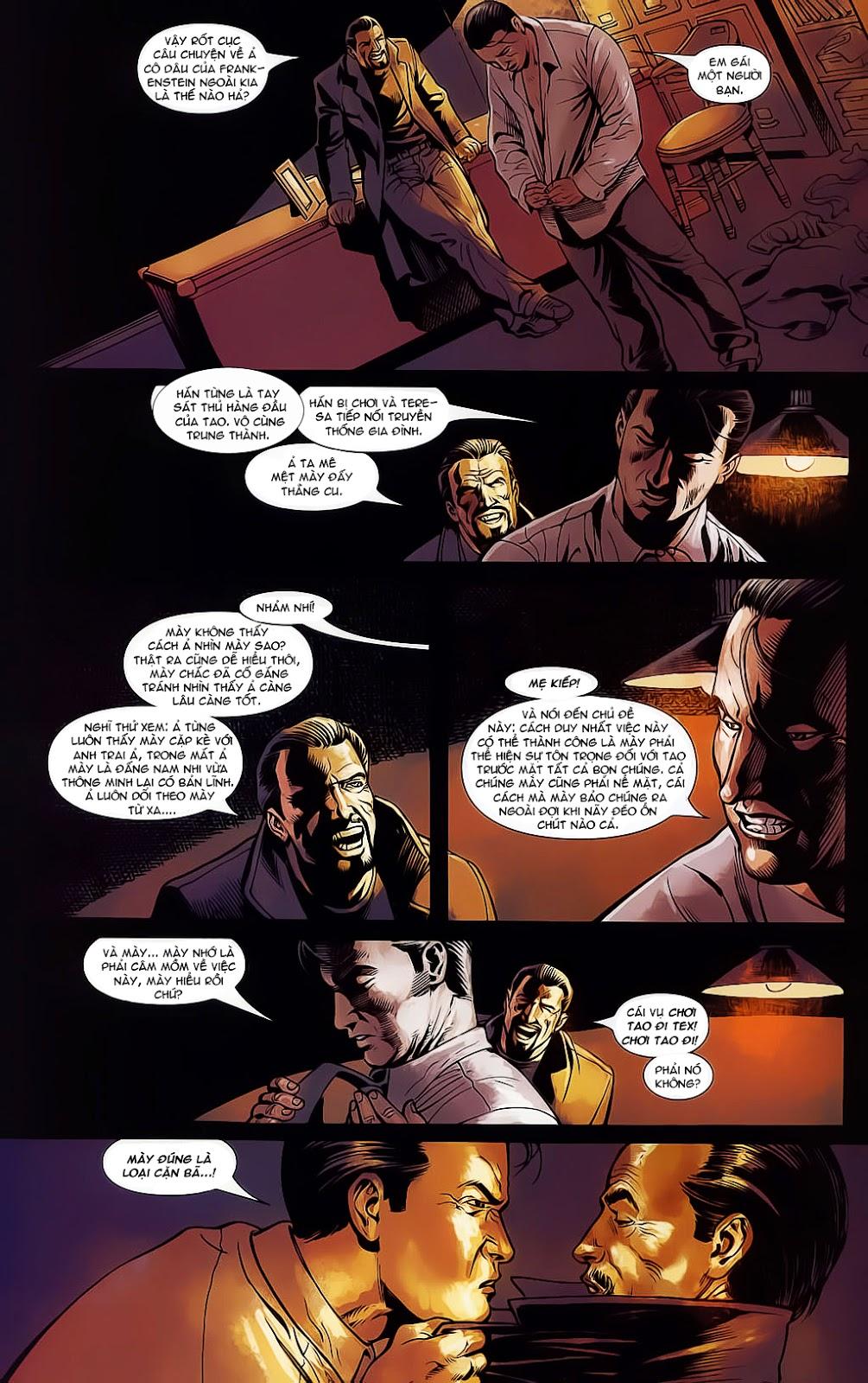 The Punisher: Trên là Dưới & Trắng là Đen chap 4 - Trang 16