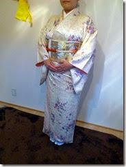 着物で幼稚園の卒園式に (1)