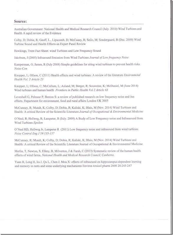 BC Health Staff Report on WInd Turbine sound 4of 4