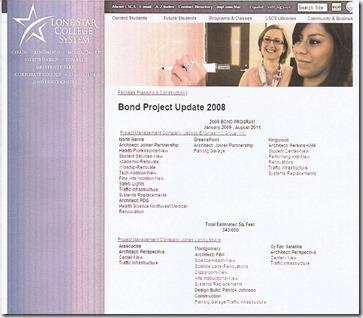 LSCS 2008 bond list