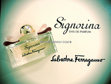 SIGNORINA SALVATORE FERRAGAMO FRAGRANCE SINGAPORE LAUNCH AT PARAGON