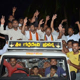 Campaigning in Chamundeshwari Constituency