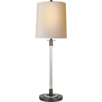 Add a sleek touch to your entry with a lamp like this one. (circalighting.com)