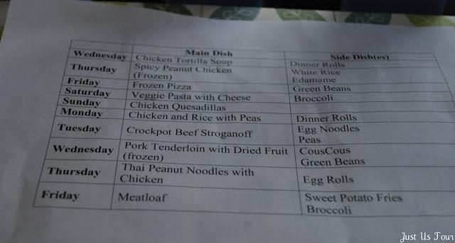 dinner planning