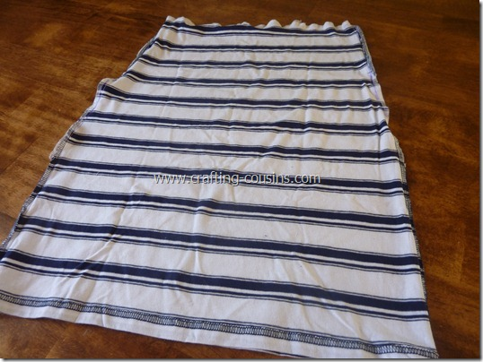 Turn a Tee Shirt Into a Shirred Sundress-tutorial from the Crafty Cousins (4)