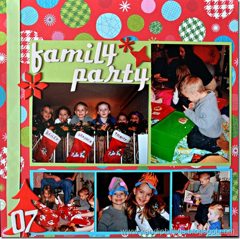 Family Party Brady