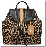 Diane von Fustenberg Leopard Backpack
