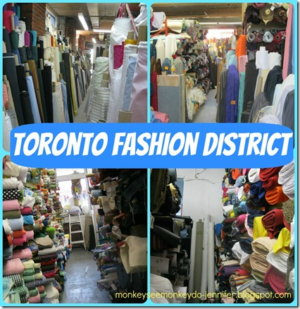 Toronto Fabric District