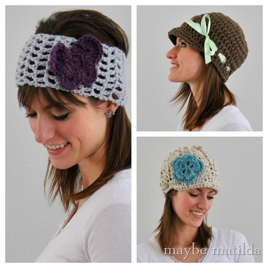 Hats and Headwrap by Maybe Matilda