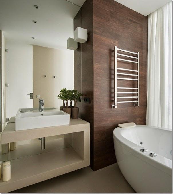 Piccoli spazi minimalismo in 60 mq case e interni for Bagno 6 mq
