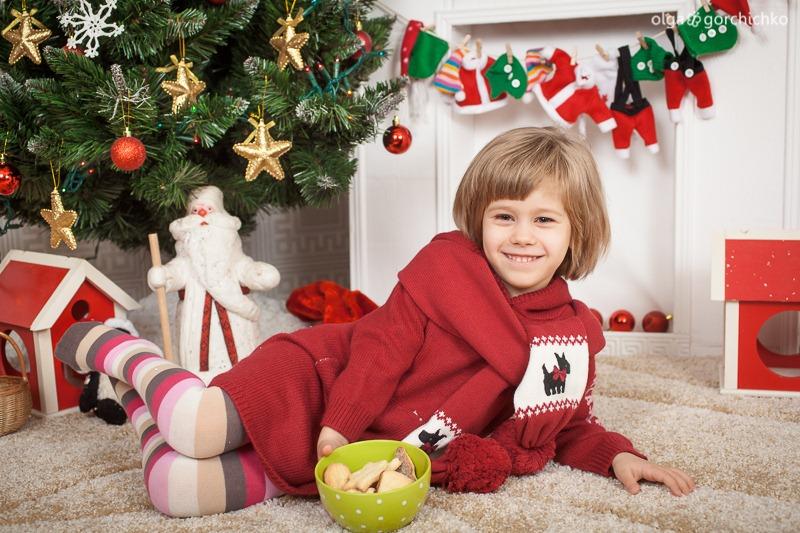Детский новогодний фотопроект Рождественские мечты. 11 Полина и Миша-8872