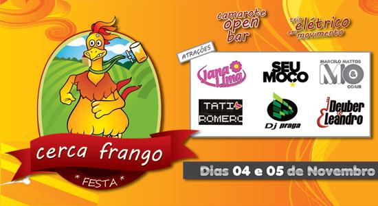 Festa Cerca o Frango - Dias 04 e 05 de novembro