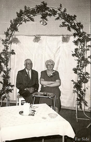 Bill and Gertie McGranes Fiftieth anniversary Oct 23, 1957