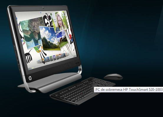 HP TouchSmart 520