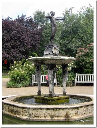 Hyde Park Rose gardens.
