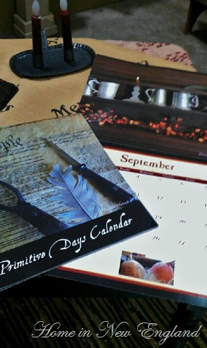 Primitive Days Calendar