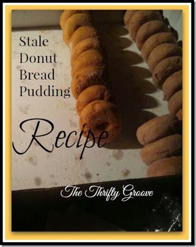 Stale Donut Recipe @ TTG