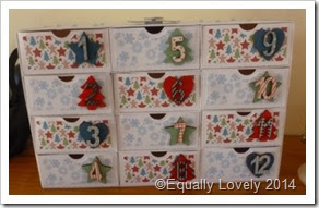 Advent Drawers,
