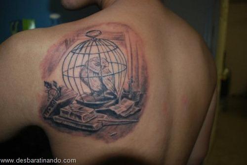 tatuagens harry potter tattoo reliqueas da morte bruxos fan desbaratinando (7)