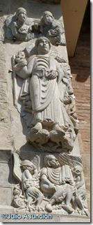 San Pedro - portada sur Basílica de Saint Sernin - Toulouse