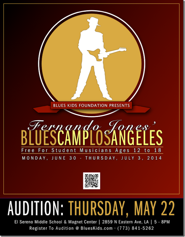 Blues Camp Flyer