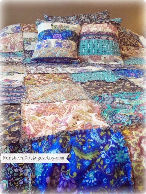 Quilts and Pillows {Northern Cottage}
