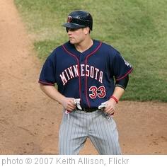 'Justin Morneau' photo (c) 2007, Keith Allison - license: http://creativecommons.org/licenses/by-sa/2.0/