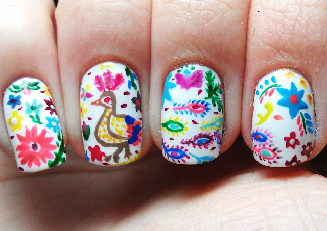 Nailartinc charro days fiesta nailart just some photos of tonights nailart inspired of the charro days fiesta i personally dont know much about this celebration because its an american and prinsesfo Image collections